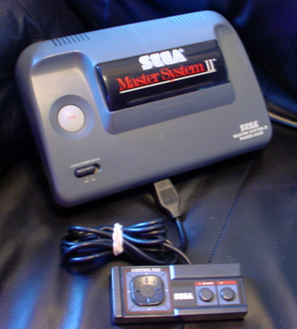 Sega Master System. Sega Master System II